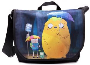Adventure Time Totoro Shoulder Bag